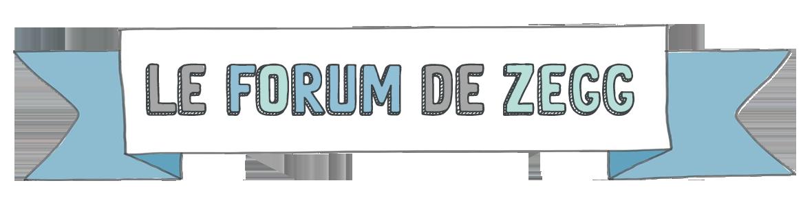 Forum de ZEGG